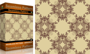 Vol.2 : Vector Seamles Pattern Ornaments