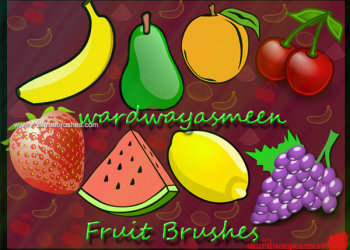 Apple Fruits – Strawberry – Grapes – Banana – Pear – Watermelon – Mango