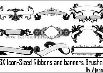 Icon Sized Ribbons