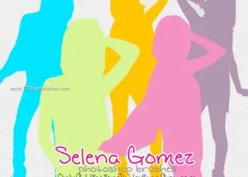 Selena Gomez Silhouette
