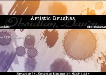 Artistic Splatter
