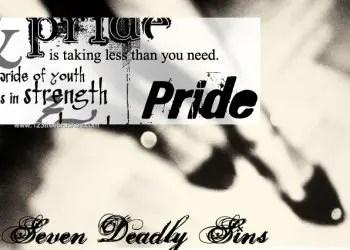 Seven Deadly Sins – Pride Text