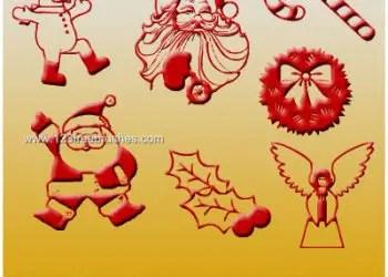 Christmas Santa Claus – Snowman