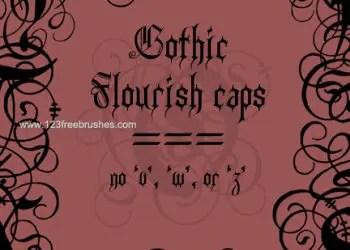 Gothic Flourish