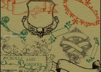 Vintage Borders and Scrolls