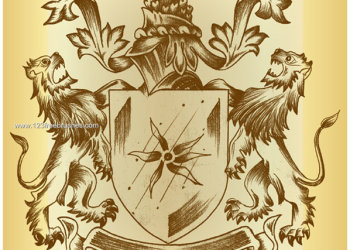 Heraldry Shield – Coat of Arms Photoshop Brushes