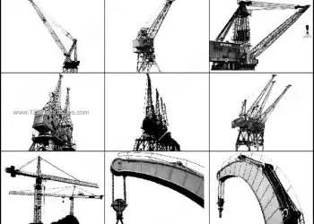 Cranes Free Photoshop Brushes