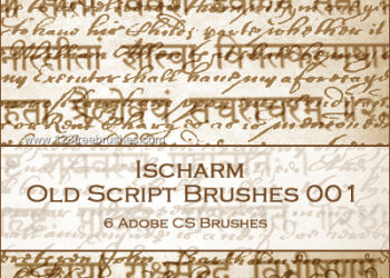 Ischarm Old Script