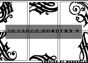 Fancy Corner Borders 4