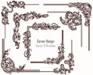 Corner Design Vector
