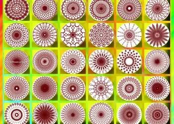 Spirography Flowers