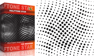 Halftone Star Pack