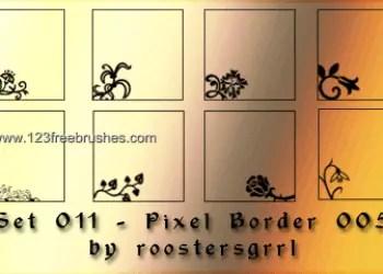 Ornate Border Corners
