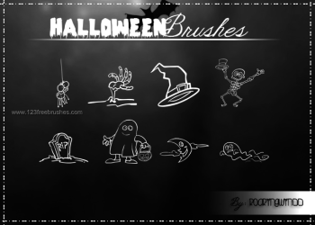Free Halloween Photoshop Cs3 Brushes Download