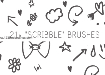 Ink Scribbles Set 9