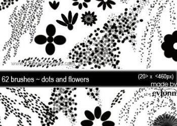 Dots and Flower