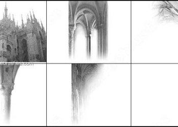 Architecture Gothic Free Brushes Set