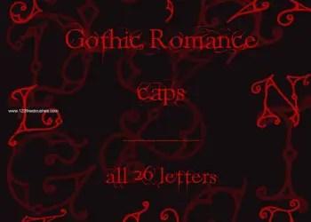 Gothic Romance Caps