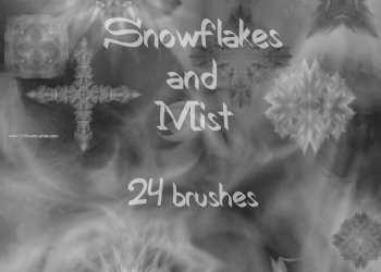 Snowflakes and Mist