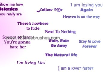 Breaking Benjamin Lyrics