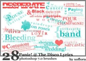 Panic At the Disco Lyrics