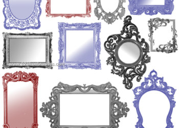 Vintage Ornate Frames Pack