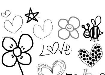 Sweet Love Doodles
