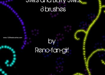 Swirls and Blurry Swirls