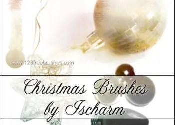 Christmas Ornaments and Light Bulbs