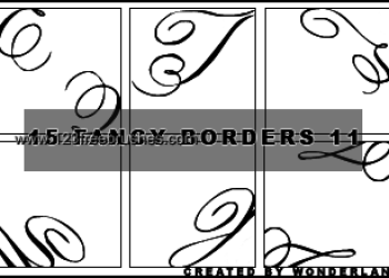 Fancy Icon Borders 1