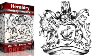 Vol.1 : Sketchy Heraldry