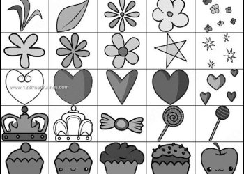 Cute Stuff Brushes – Flowers – Heart – Cake – Fruits – Shapes