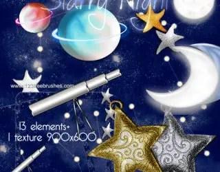 Starry Night Sky 3