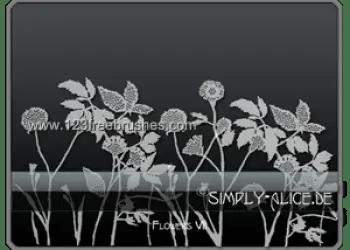 Flower Brushes Photoshop Cs4
