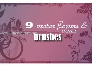 Vector Flower Vines