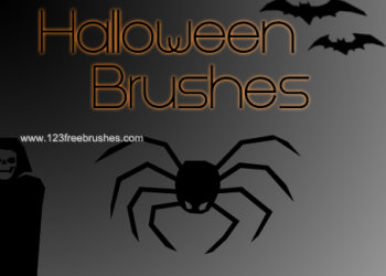 Free Adobe Photoshop Halloween Brushes Photoshop