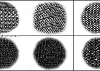 Chainmail Brushes Photoshop