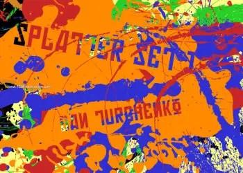 Ink Splatter Paint 83