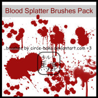 Blood Splatter 6