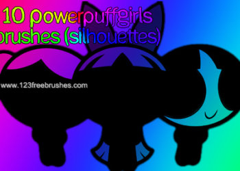 Power Puff Girls Silhouettes