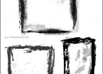 Grunge Borders and Frames for Photoshop Free Download