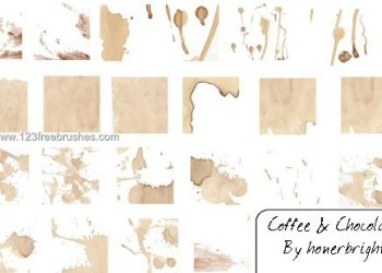 Chocolate and Coffee Stains