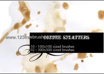 Coffee Splatters