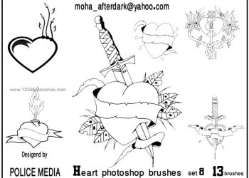Valentine Heart Tattoo