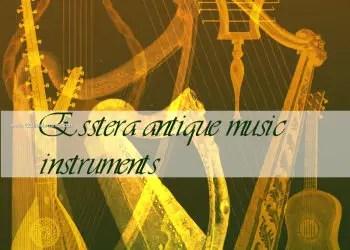 Antique Music Instruments