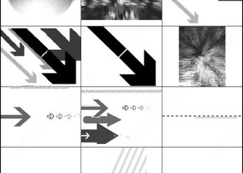 Arrows – Lines Brushes
