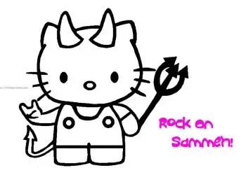 Hello Kitty Devil
