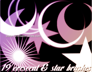 Crescent Moon and Stars