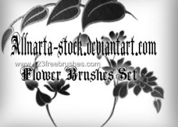 Photoshop Floral Brushes Free Download