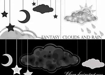 Fantasy Clouds and Rain